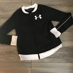 Girl's Under Armour Track Jacket Size Large